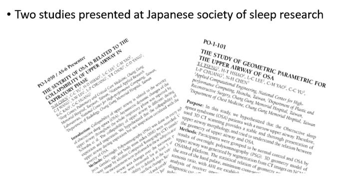 Two studies in Japan